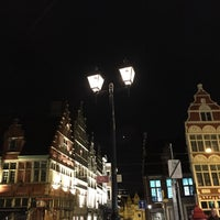 Photo taken at Sint-Veerleplein by travelformotion on 11/18/2016