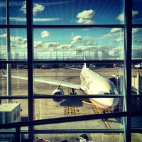 Photo taken at Brussels Airport (BRU) by travelformotion on 7/31/2013