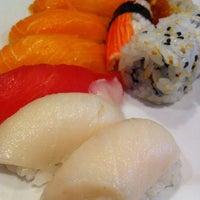 Photo taken at Kiku Japanese Steak & Sushi by Rio on 5/9/2013