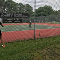 Photo taken at Beaver Dam Park Tennis Courts by Michele B. on 7/27/2017