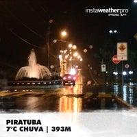 Photo taken at Piratuba by Renan O. on 7/25/2014