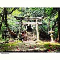 Photo taken at 茂宇気神社 by pirokichi0819 on 5/10/2013