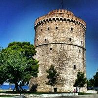 Photo taken at White Tower by Tarık K. on 7/13/2013