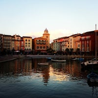 Photo taken at Loews Portofino Bay Hotel at Universal Orlando by Jack S. on 10/17/2013