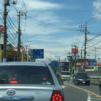 Photo taken at 産業道路入口交差点 by hirogoal 1. on 7/3/2016