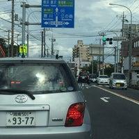 Photo taken at 産業道路入口交差点 by hirogoal 1. on 7/31/2016