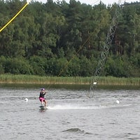 Photo taken at WakePark Petersdorf by Lina F. on 8/20/2015