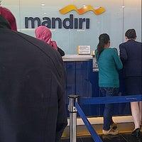 Photo taken at Bank Mandiri by Recka D. on 4/3/2013