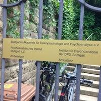 Photo taken at Stuttgarter Akademie Für Tiefenpsychologie und Psychoanalyse by Aleksandar J. on 6/8/2013