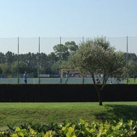 Photo taken at Centro Sportivo Formello SS Lazio by Davide M. on 7/10/2013