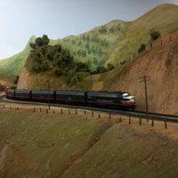 Снимок сделан в San Diego Model Railroad Museum пользователем Ijaz A. 10/27/2012
