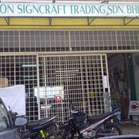 Photo taken at Yap Neon Signcraft Trading Sdn Bhd by Haslina S. on 10/19/2012