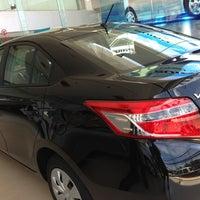 Photo taken at Toyota Prachuab Kirikhan by Ple P. on 7/2/2013