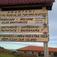 Photo taken at Isla Amantaní by Ana C. on 3/29/2013
