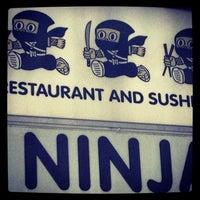 Photo taken at Ninja by Brad B. on 3/7/2013