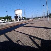 Photo taken at Estação Ferroviária de Caxarias by Nelson L. on 8/18/2013
