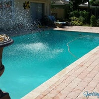 Photo taken at Sparkling Clear Pool Care by Cecil F. on 10/2/2015