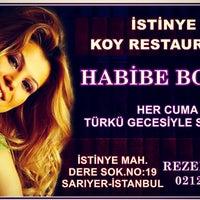 Photo taken at İstinye Koy Restaurant by Habibe B. on 12/25/2015