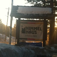 Photo taken at Himmel Haus by EverythingTahoe.com E. on 1/21/2013
