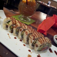 Photo taken at Hot Woks Cool Sushi by Ambra R. on 4/3/2013