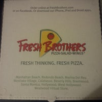 Photo taken at Fresh Brothers by Matthew D. on 1/4/2014