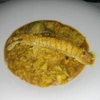 Photo taken at Restaurante Mediterráneo by Carlos M. on 3/13/2014