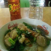Photo taken at Baso Jono Mukti by Rozy R. on 1/26/2015