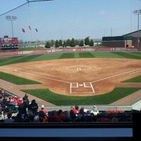 Photo taken at Bowlin Stadium by Haley W. on 4/27/2013