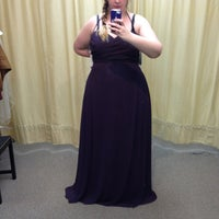 Photo taken at Lulu's Bridal by Mary M. on 3/8/2013