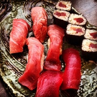 Photo taken at Sushi Kyotatsu by Mochizuki N. on 6/9/2013