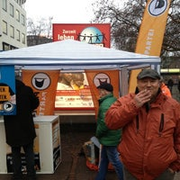 Photo taken at Platz der Weltaustellung by Simon K. on 1/5/2013