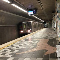 Photo taken at Universal City Metro Station by Kirk D. on 4/7/2013