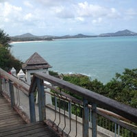 Photo taken at Lad Koh Viewpoint Samui Island by Sanit N. on 2/14/2013
