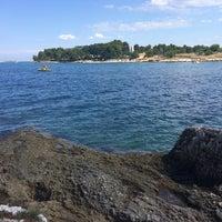Photo taken at Zelena Laguna by Byrten on 7/13/2017