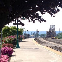 Photo taken at Vancouver Amtrak Station (VAN) by Steve S. on 5/11/2013