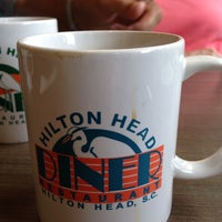 Photo taken at Hilton Head Diner by Emily B. on 7/10/2013