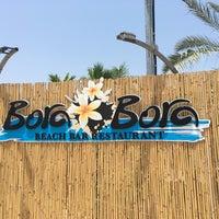 Photo taken at Bora Bora Beach Bar by Shlomi K. on 7/2/2017