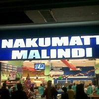 Photo taken at Nakumatt Malindi by Muhsin E. on 12/22/2012