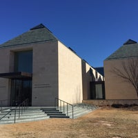 Photo taken at Fred Jones Jr. Museum of Art by Andrew R. on 1/10/2015