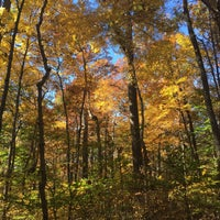Photo taken at Spring Mill State Park by Andrew R. on 10/27/2015