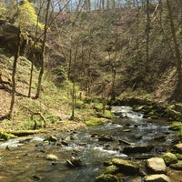 Photo taken at Spring Mill State Park by Andrew R. on 4/18/2016