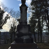 Photo taken at Frankfort Cemetery by Andrew R. on 2/4/2017