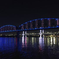 Photo taken at Jeffersonville Riverstage by Andrew R. on 5/8/2017