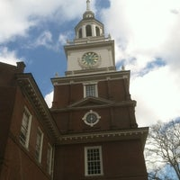 Photo taken at Independence Hall by Andrew R. on 3/15/2013