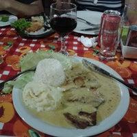 Photo taken at Lazinho Bar, Restaurante e Buffet de Massas by Paulo Henrique V. on 9/27/2014