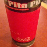 Photo taken at Pita Pit by Ama R. on 11/12/2012