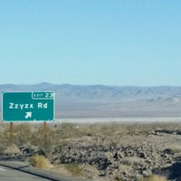 Photo taken at Zzyzx by Lisa W. on 12/29/2016