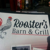Photo taken at Rooster's Barn & Grill by Cindy R. on 6/23/2014