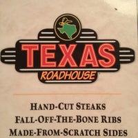 Photo taken at Texas Roadhouse by Diane E. on 9/11/2013