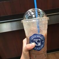 Photo taken at Coffee World by Chanatinart on 6/7/2016
